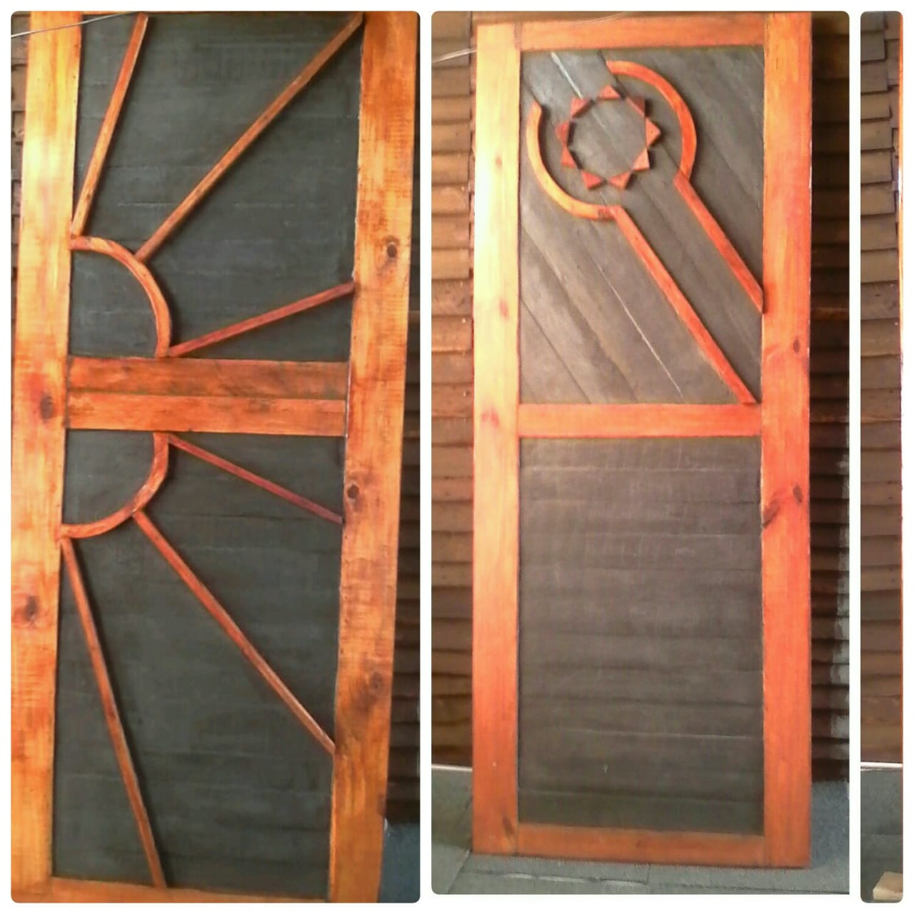 Beautiful Hand Crafted Doors and Headboards With Side Tables