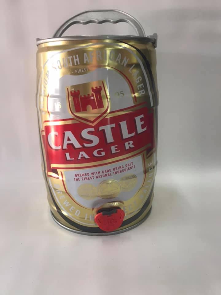 Beer Keg Castle Larger