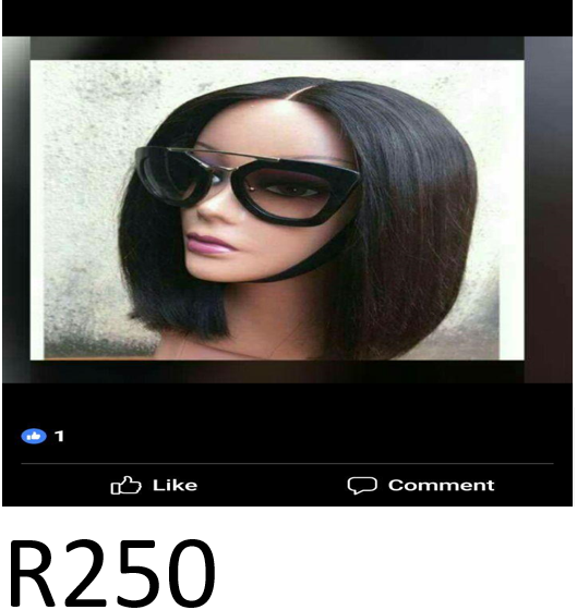 We are selling wigs and we plait hair also