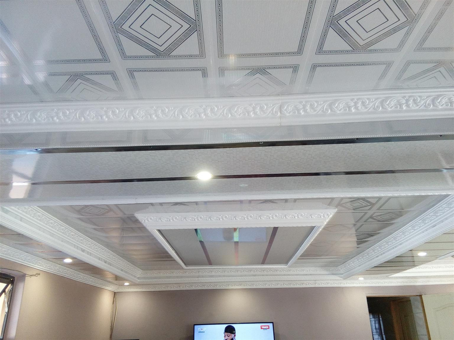 PVC ceiling installer,rhino board ceiling & built-in cupboards