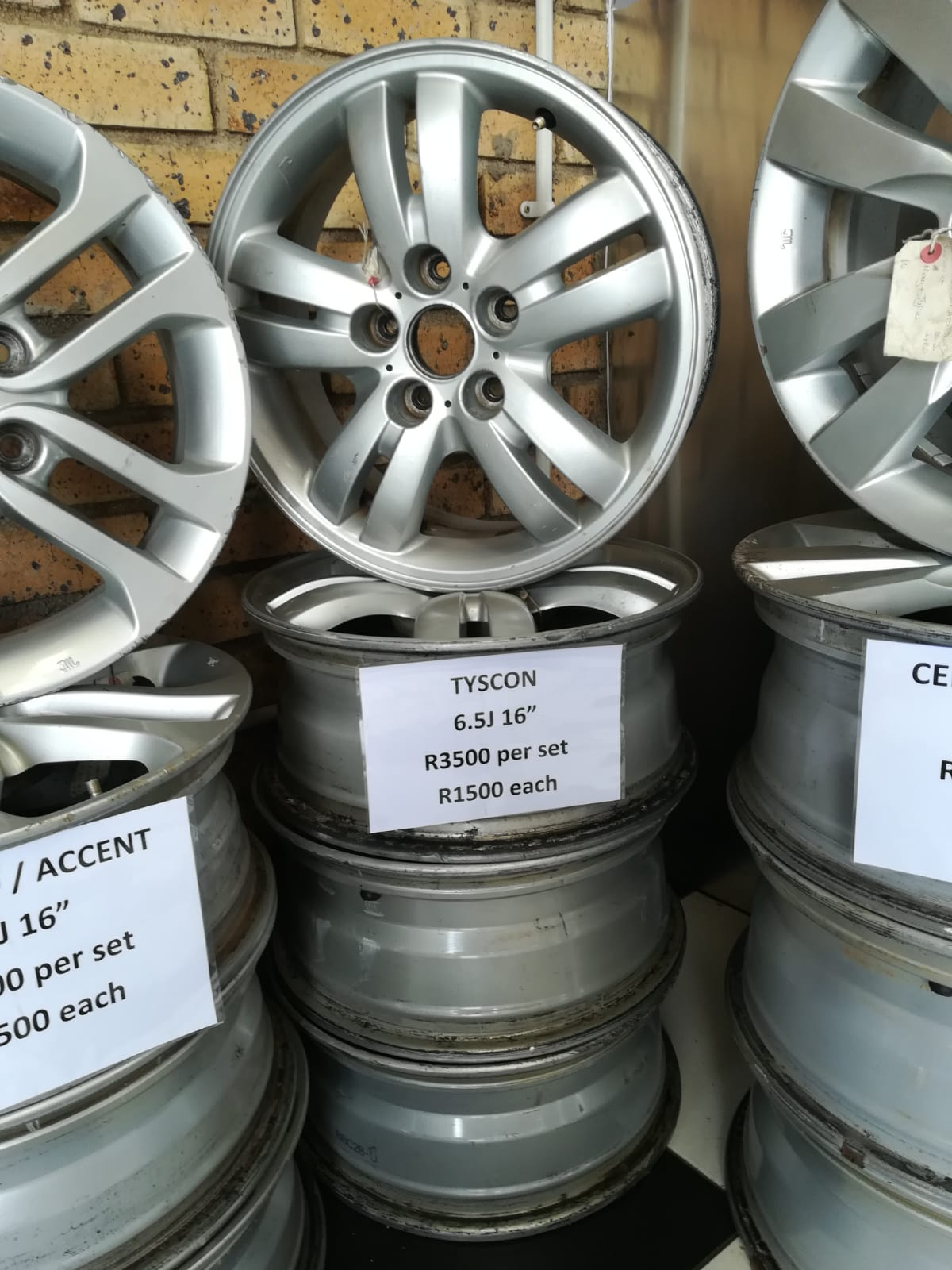 TUCSON 6.5J 16inch MAGS