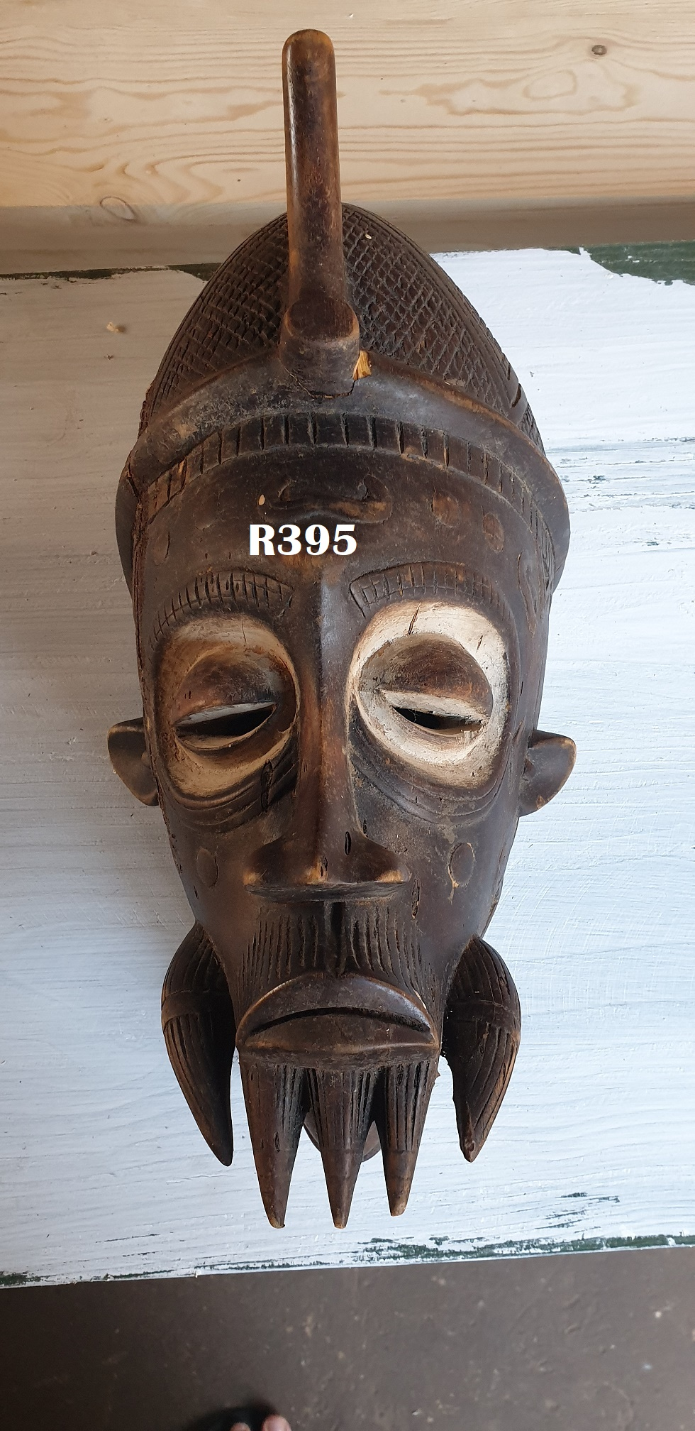 Full Head 3D Wooden Mask 1 (420x200)