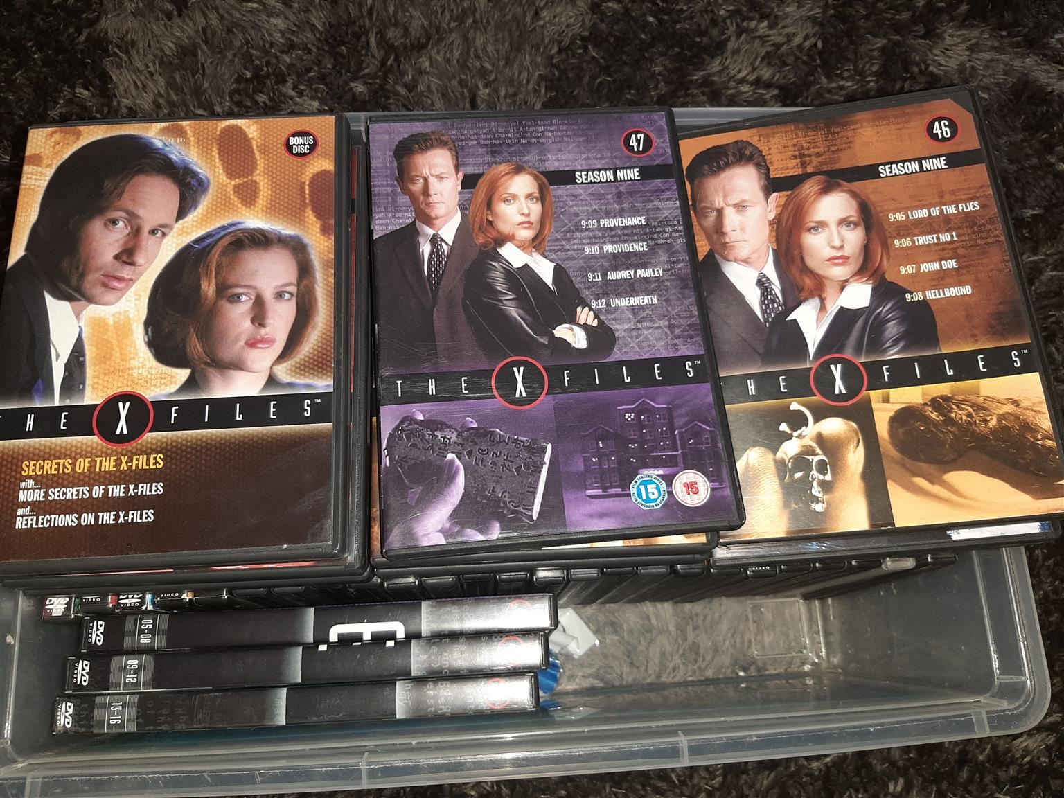 The X-Files dvd