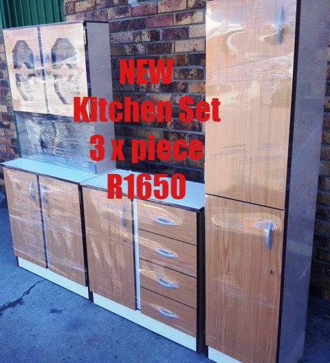 Brown 3 Piece Kitchen Set Junk Mail