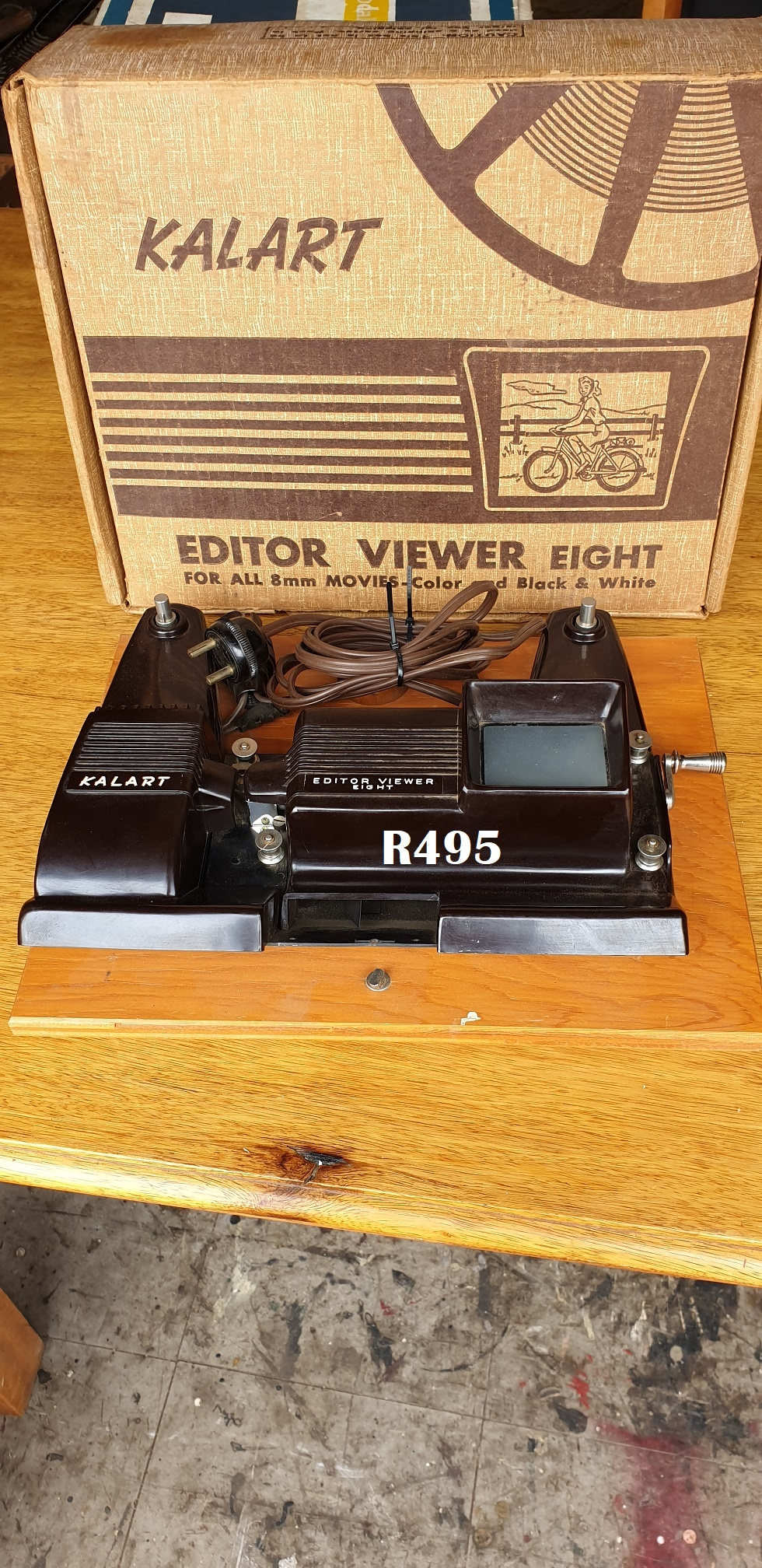 Kalart Editor Viewer Eight for 8mm movies - Color and Black and White