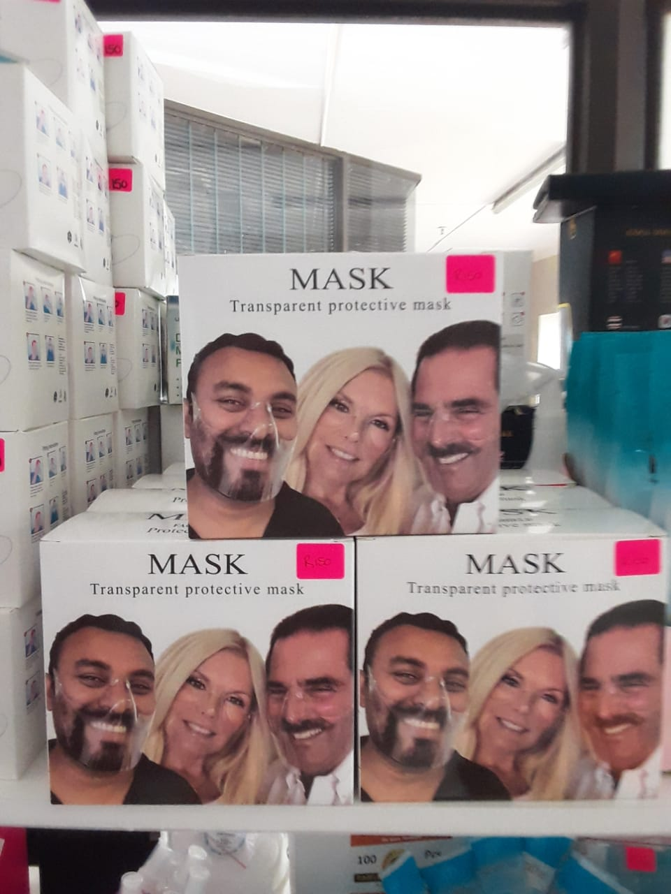 Transparent Protective Masks Clearance Sale