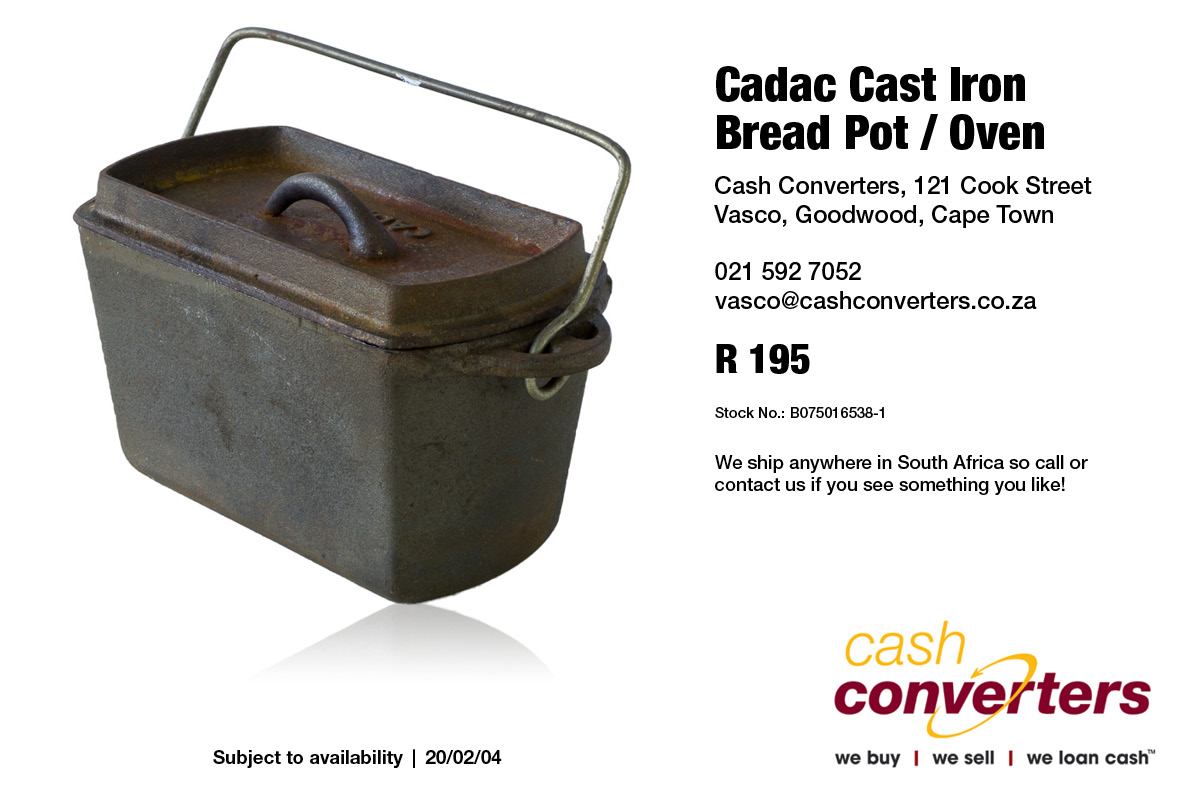 Cadac Cast Iron Bread Pot / Oven
