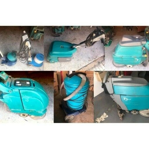 (Assorted) Tennant Floor Scrubbers & Cleaning machinery