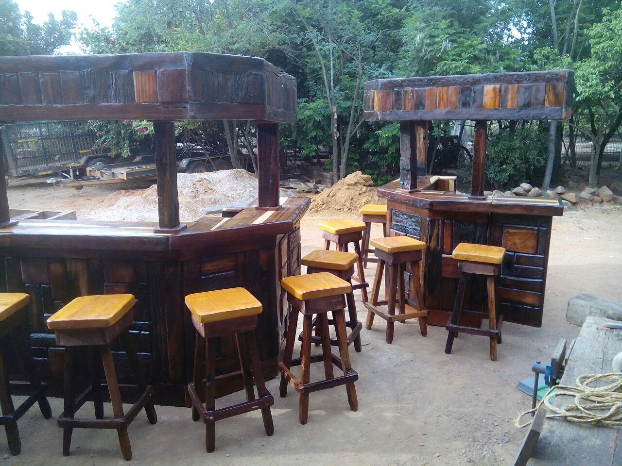 Sleeper wood bar furniture