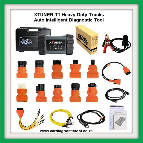 Truck tool XTUNER T1 Heavy Duty Trucks Auto Intelligent Diagnostic Tool Support WIFI