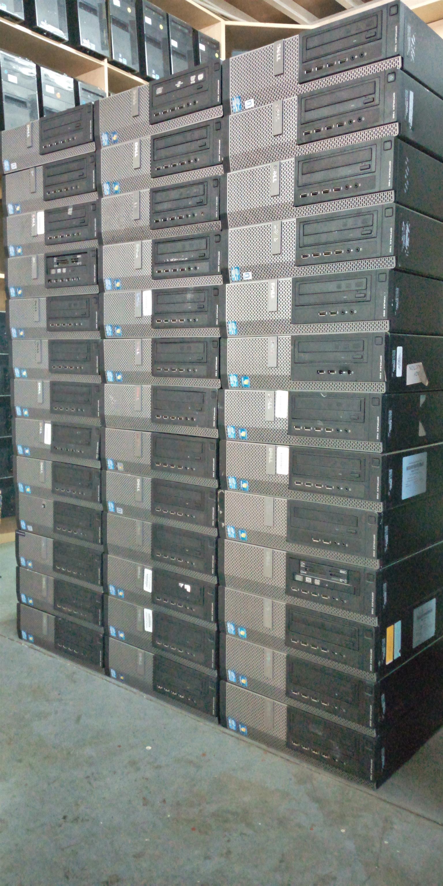 Dell Optiplex 7010/9010 Core i5-3470,250gb hdd,4gb ram dvdwriters wind