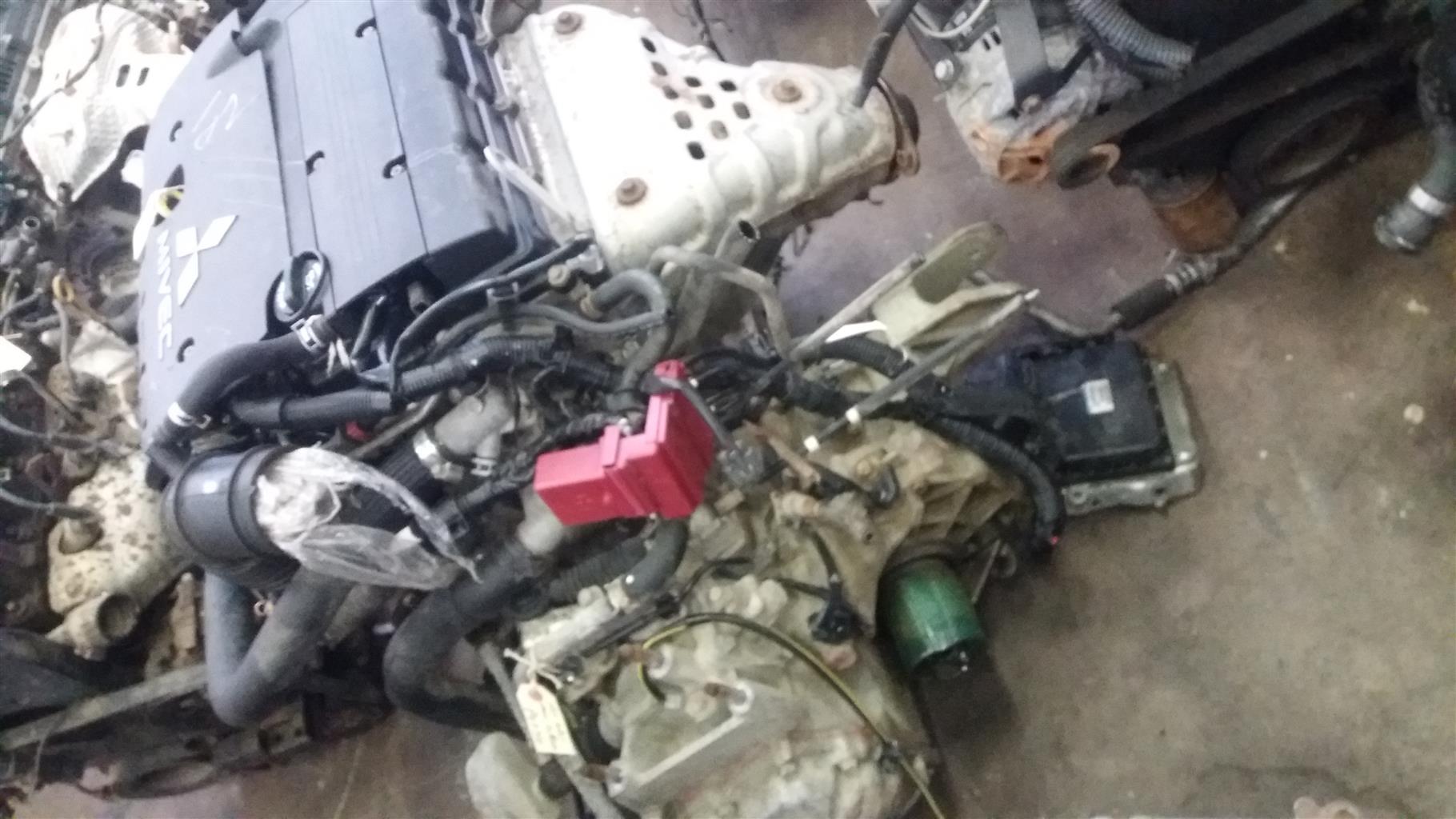 Mitsubishi 2.4 16V VVTi Engine #4B11