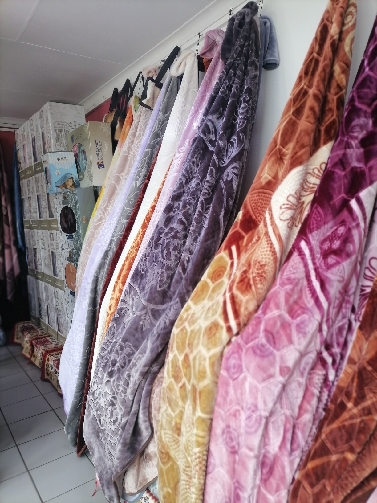 Turkish rugs and blanket business for sale on the R82