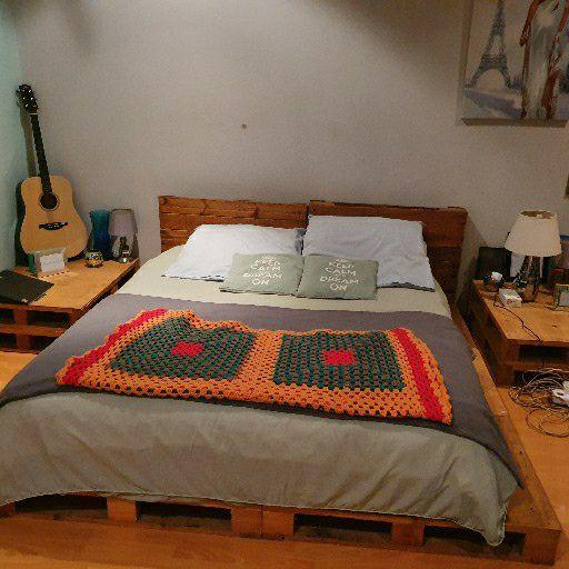 pallet bed set
