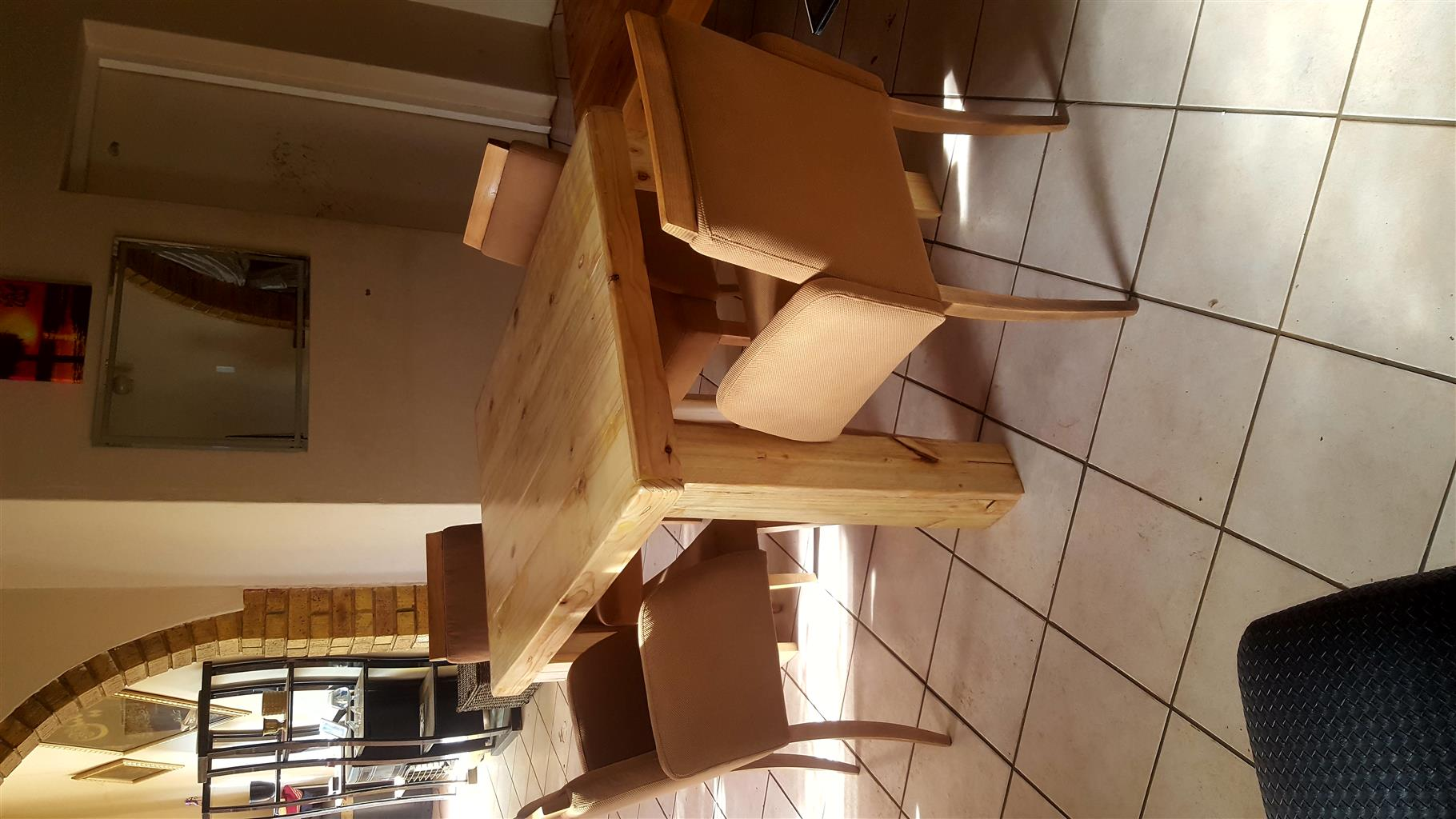 used dining room table for sale | 5pc Oak dining room table and chairs for sale | Junk Mail