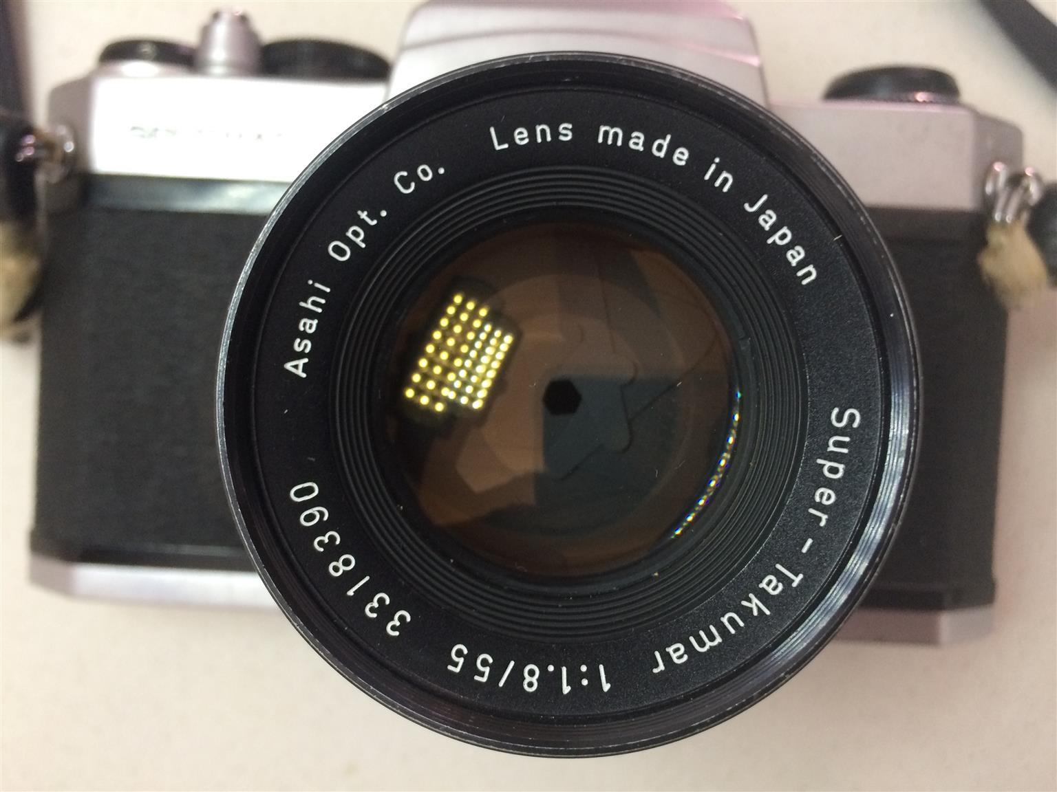 Pentax Spotmatic Vintage Film Camera
