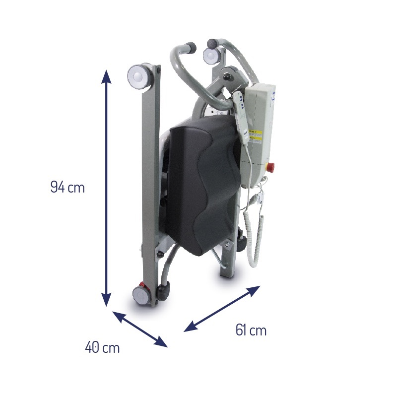 Sit-to-Stand Novaltis Patient Lifter by Drive Medical. Made in France. On Sale, while stocks last.