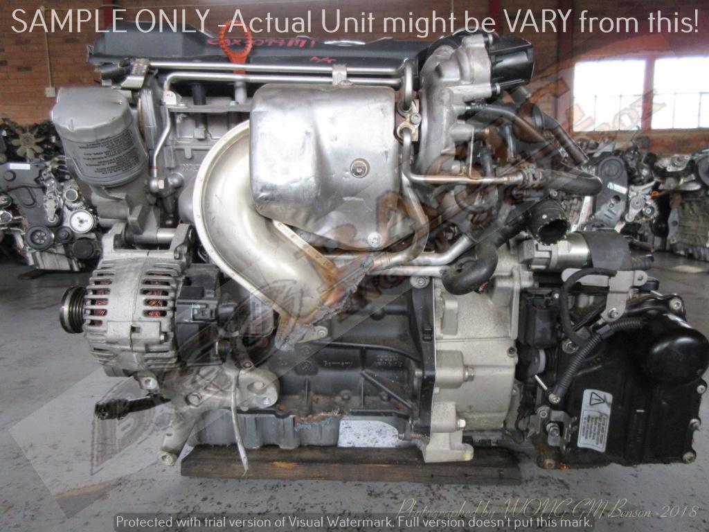 AUDI A3 -CAX 1.4 TFSI 16V Engine -VW JETTA 6