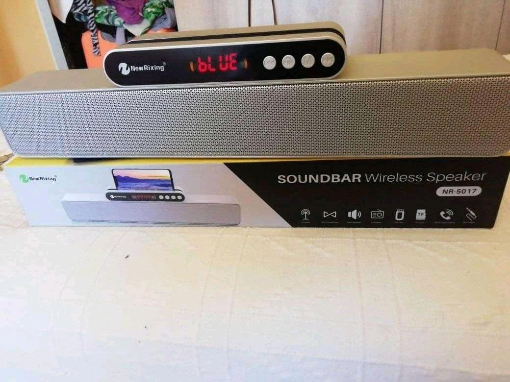 New rixing nr-5017 bluetooth 3d wireless Bluetooth SOUNDBAR speaker