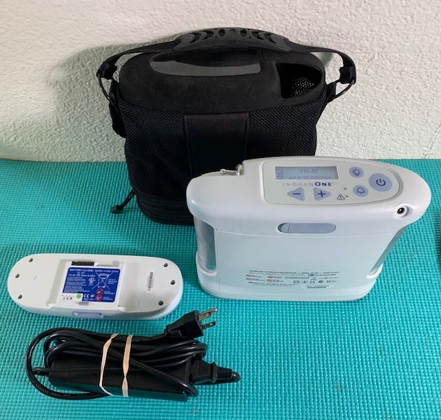 Portable Oxygen Concentrator WITH LOW HOURS