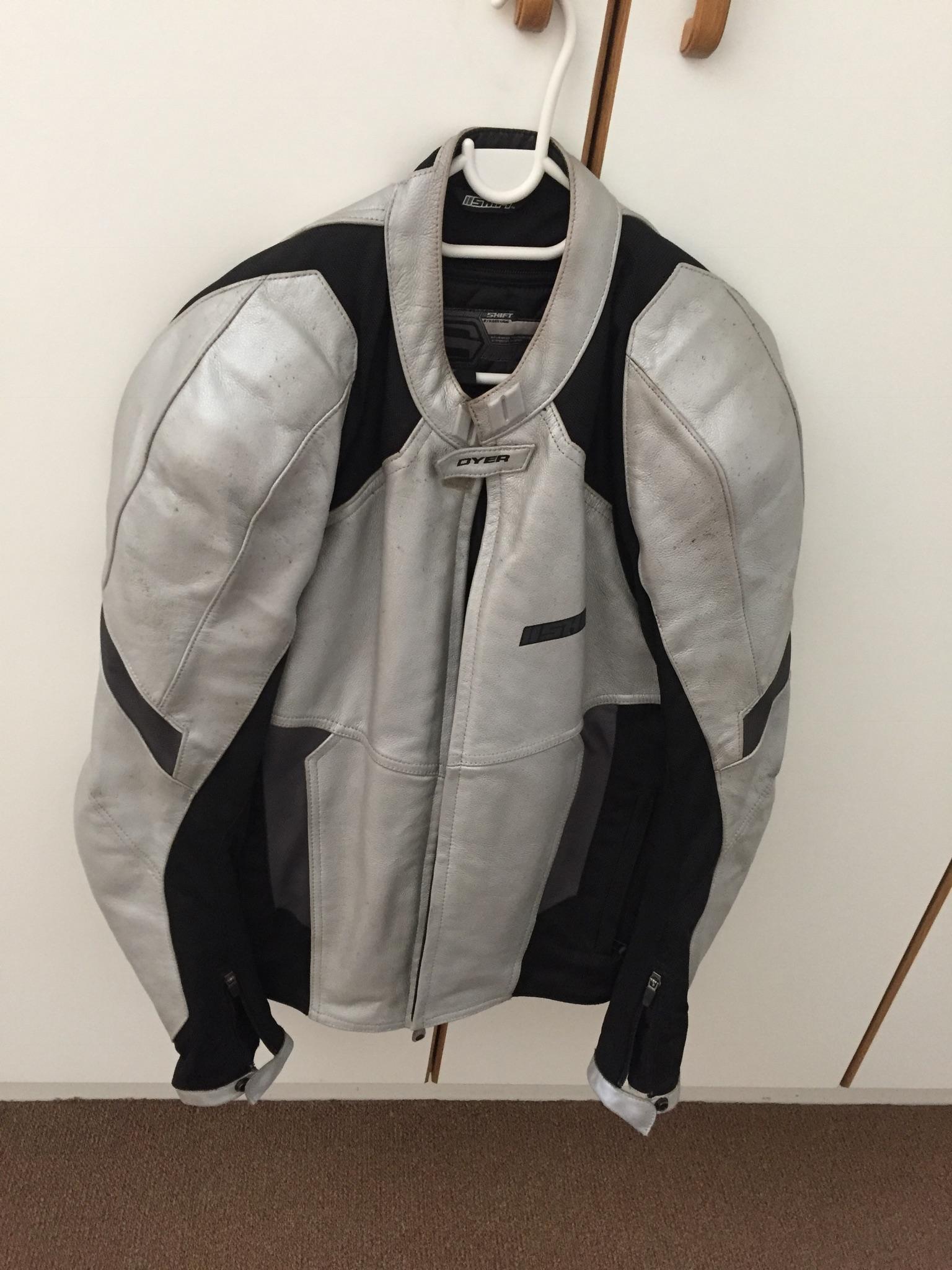 Leather biker Jacket for sale