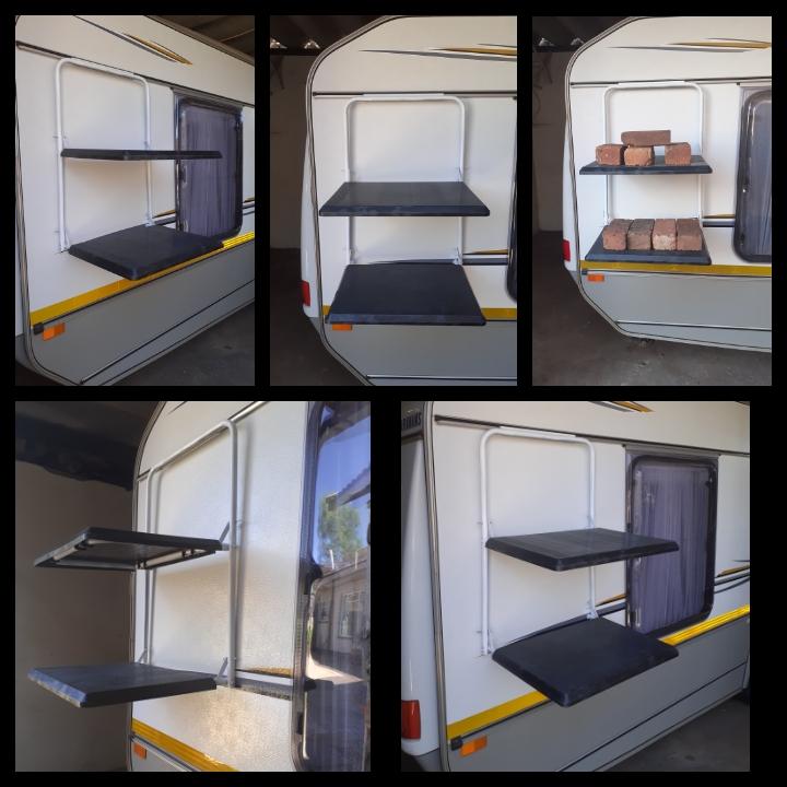 Caravan shelf