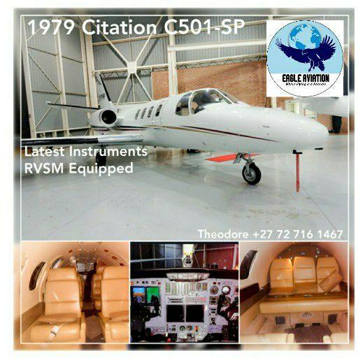 1979 CITATION C501-SP PRIVATE JET FOR SALE