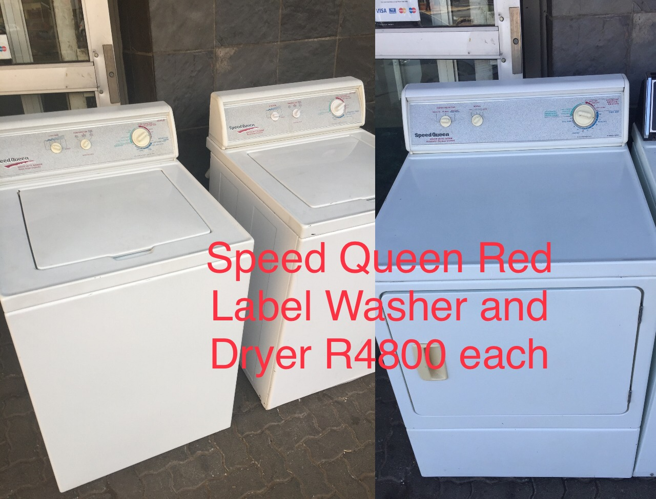 Speed Queen Washing Machines ans Dryers