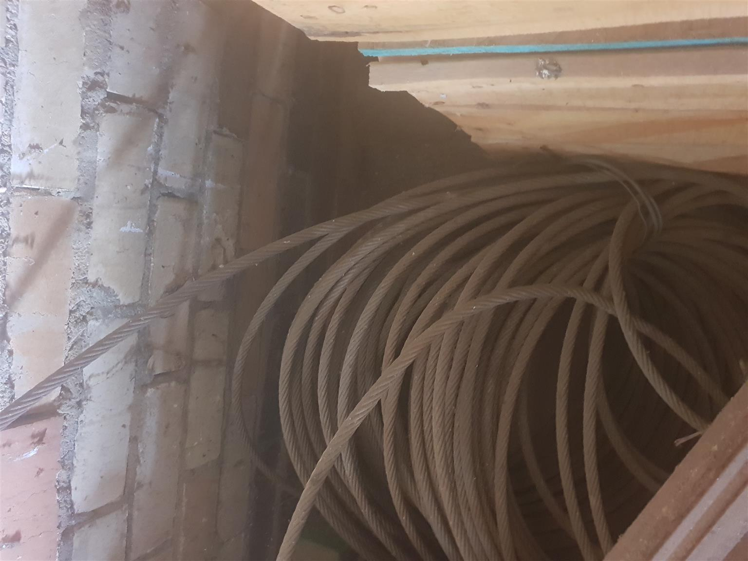 Steel fencing cable