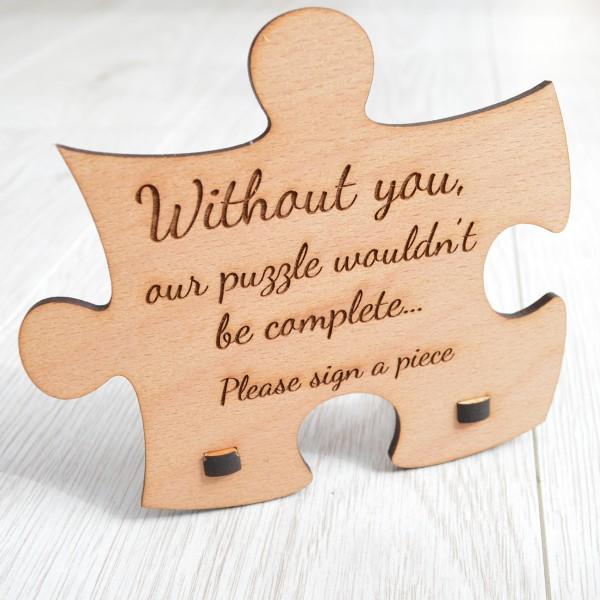 .Wedding Puzzle invitations business