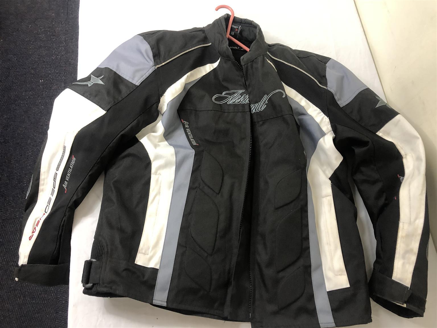 Motorcycle Jacket Assault Size 18