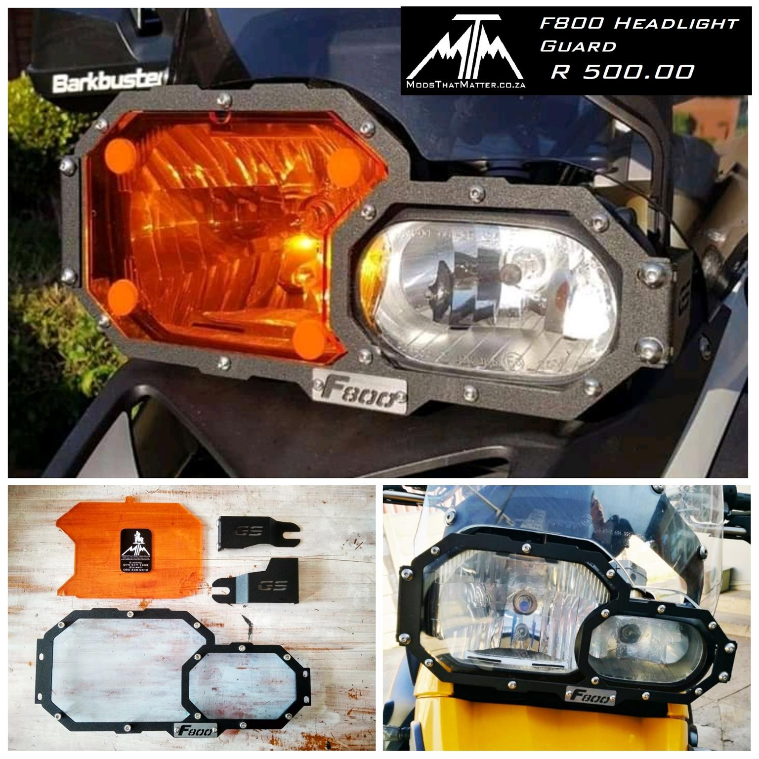 F800gs F700gs F650gs Headlight Protecors