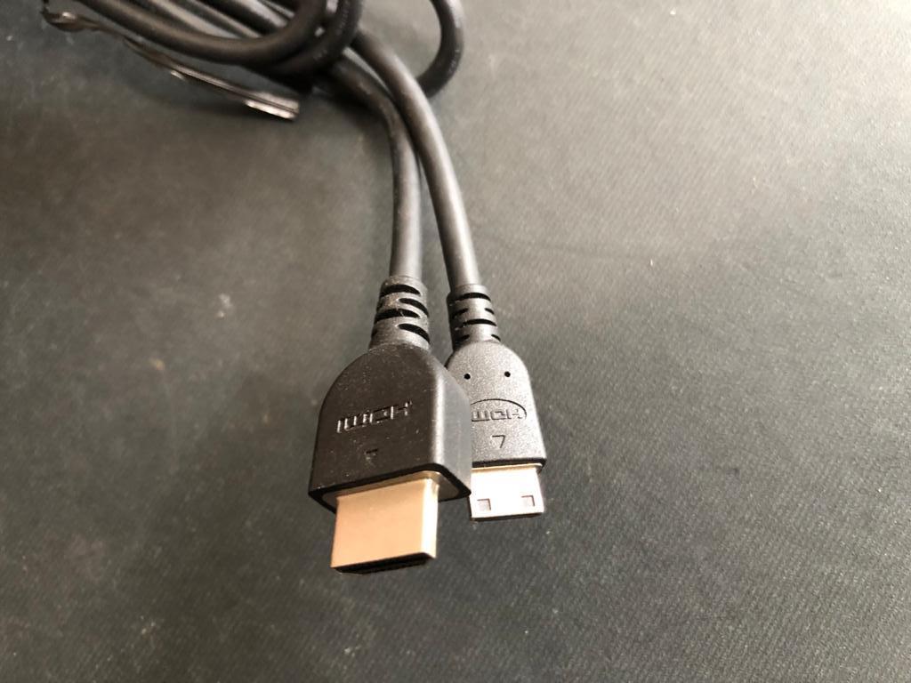 HDMI to mini-HDMI Cable