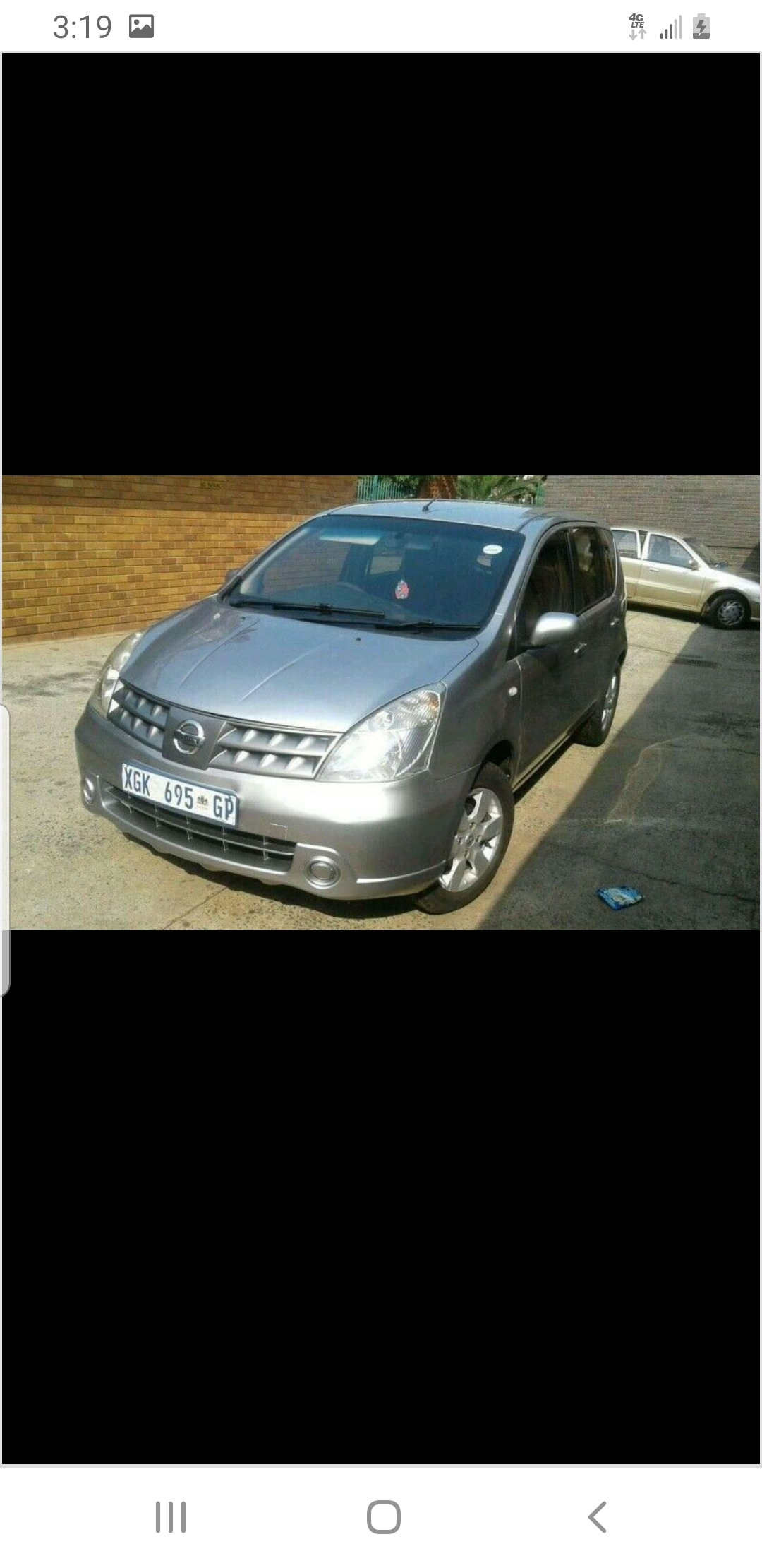 A Neat Nissan Livina For Sale Or Swap for any VW model