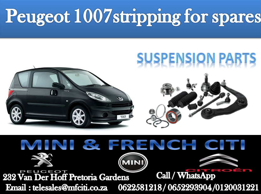 BIG PROMOTION ON Peugeot 107/1007 SUSPENSION PARTS