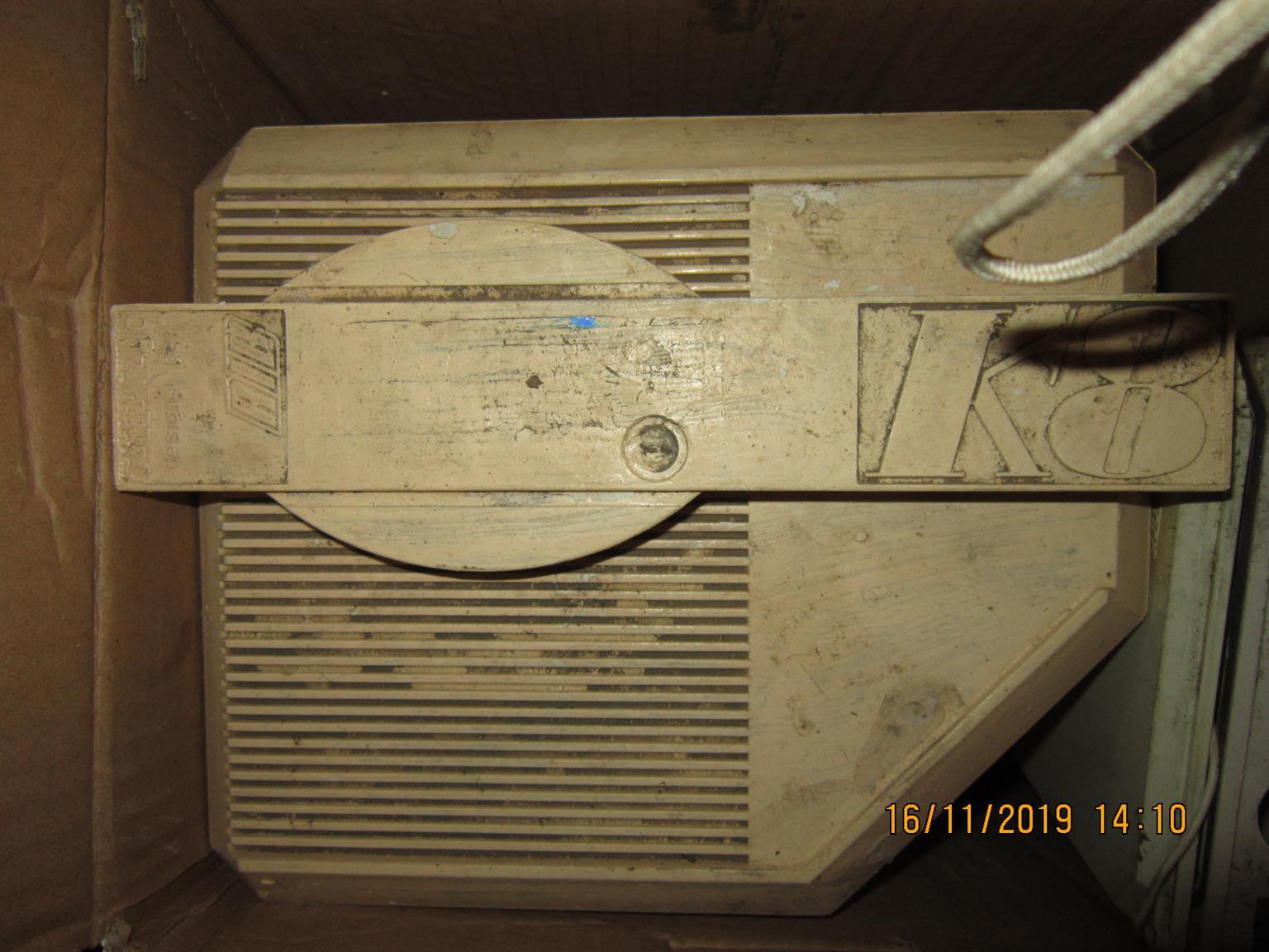 OLD RIB K8 GATE MOTOR FOR SPARES