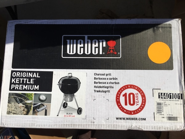 Weber 57cm One Touch Premium Kettle BBQ