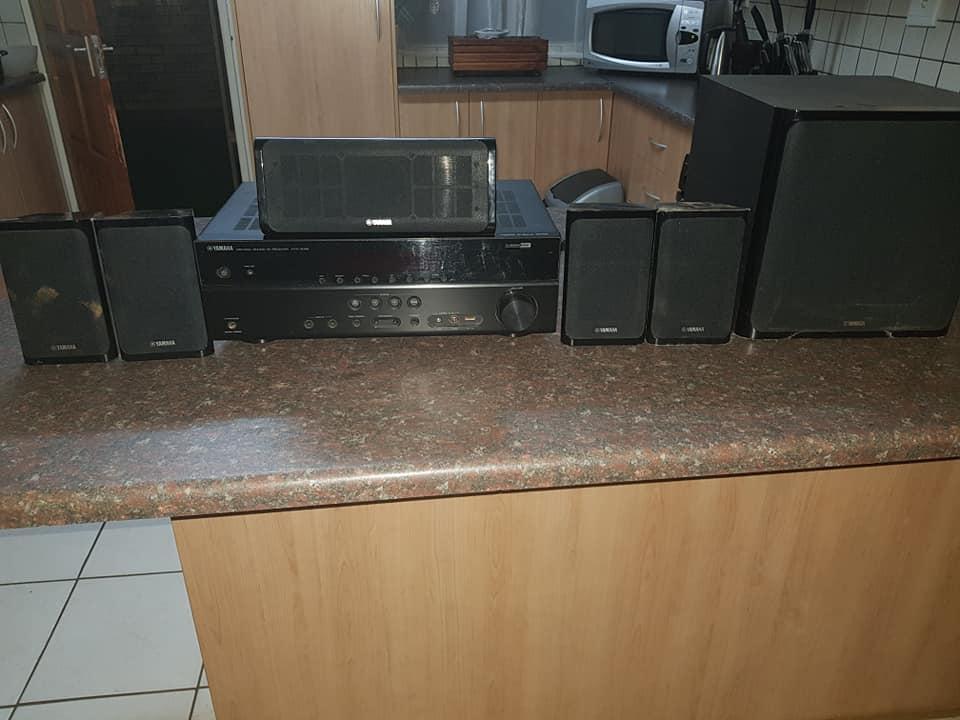 Yamaha amp and speakers