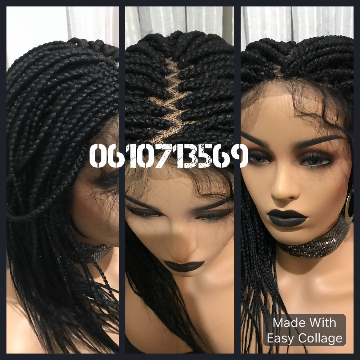 Lace front braid wigs and more