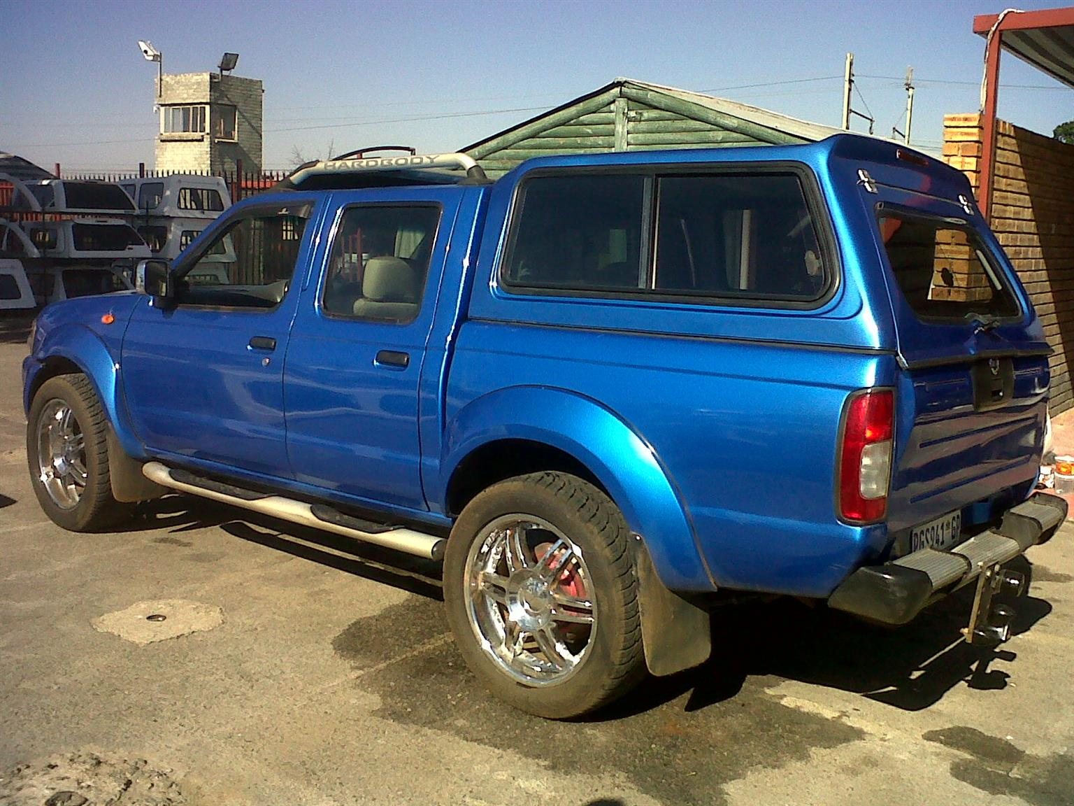 GC BRAND NEW NISSAN HARDBODY NP300 DC BAKKIE CANOPY FOR SALE!!!