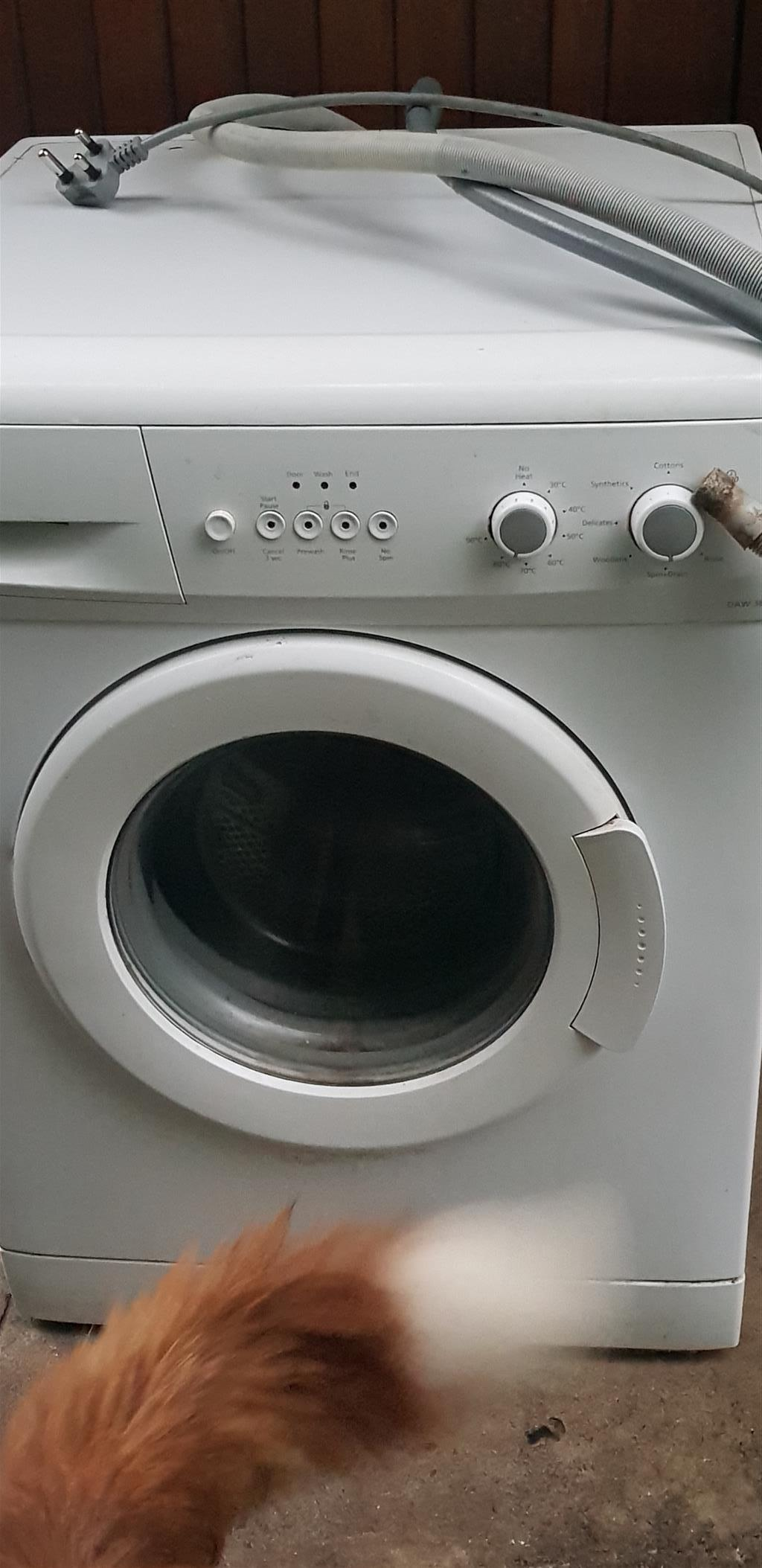 Washing machine & fridge