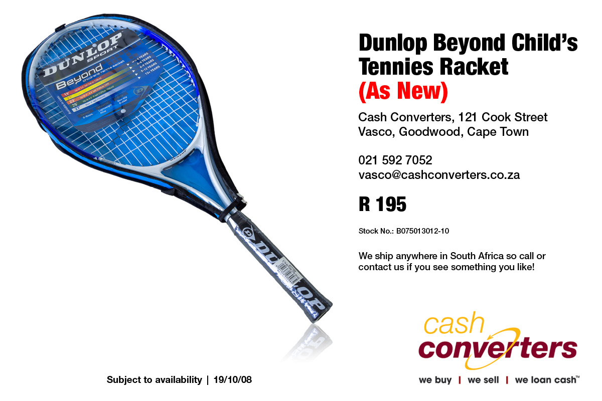 Dunlop Beyond Child's Tennies Racket (As New)