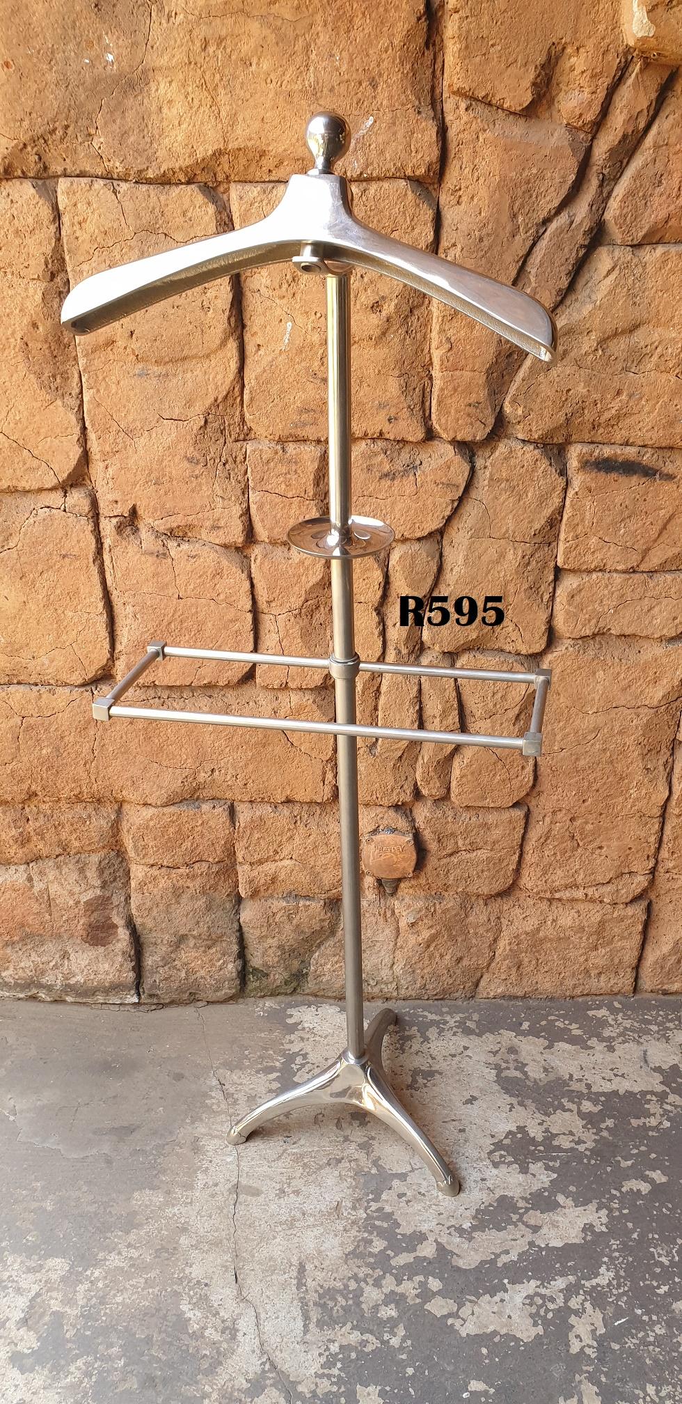 Vintage Steel Clothing Valet Hanger Stand (L 1370mm)