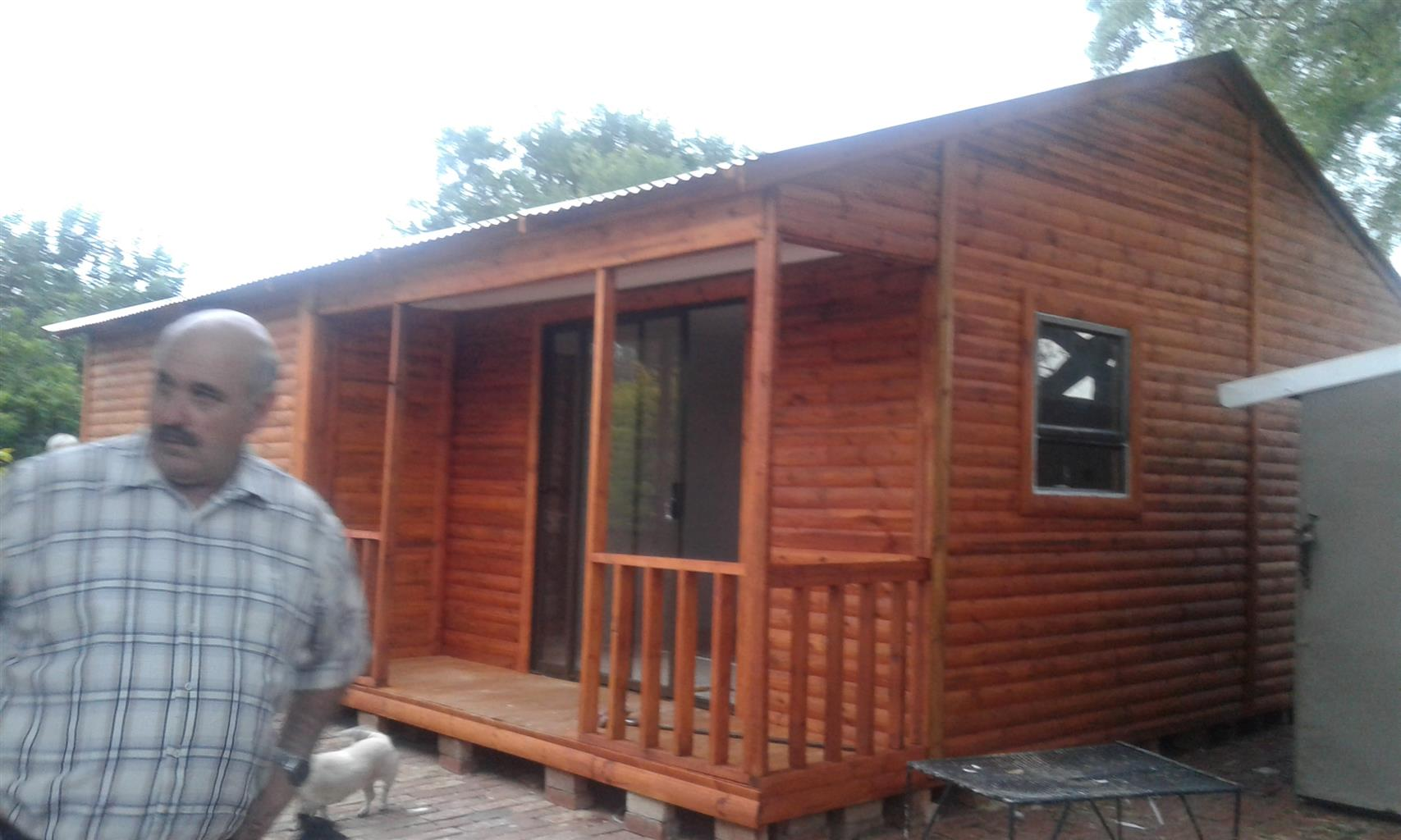 Granny Flats from Pallet wood, new wood, knotty pine and log cabin