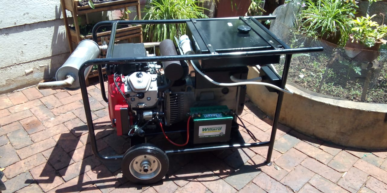 Honda 15Kva Generator Excellent Condition For Sale ONCO