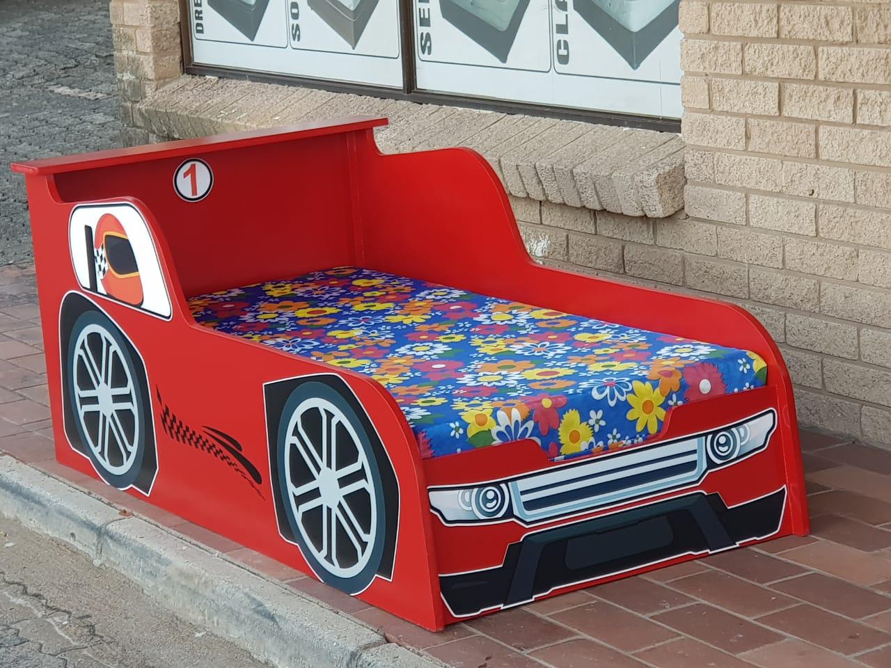 Speed racer toddler bed