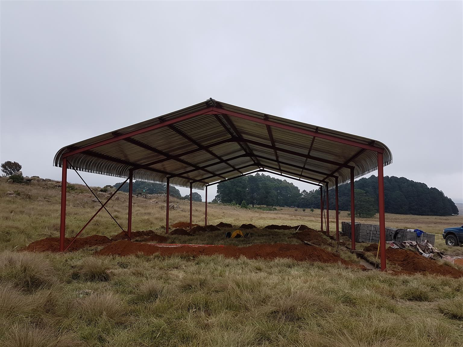Steel Shed for Sale