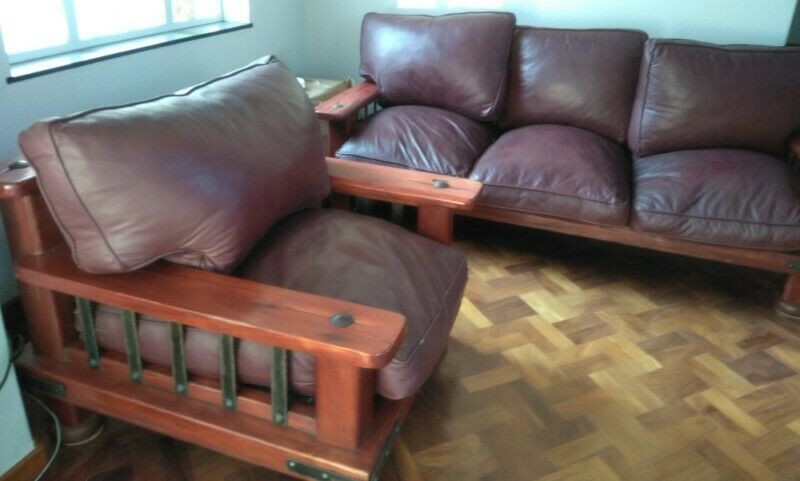 High Quality Leather Lounge Suite