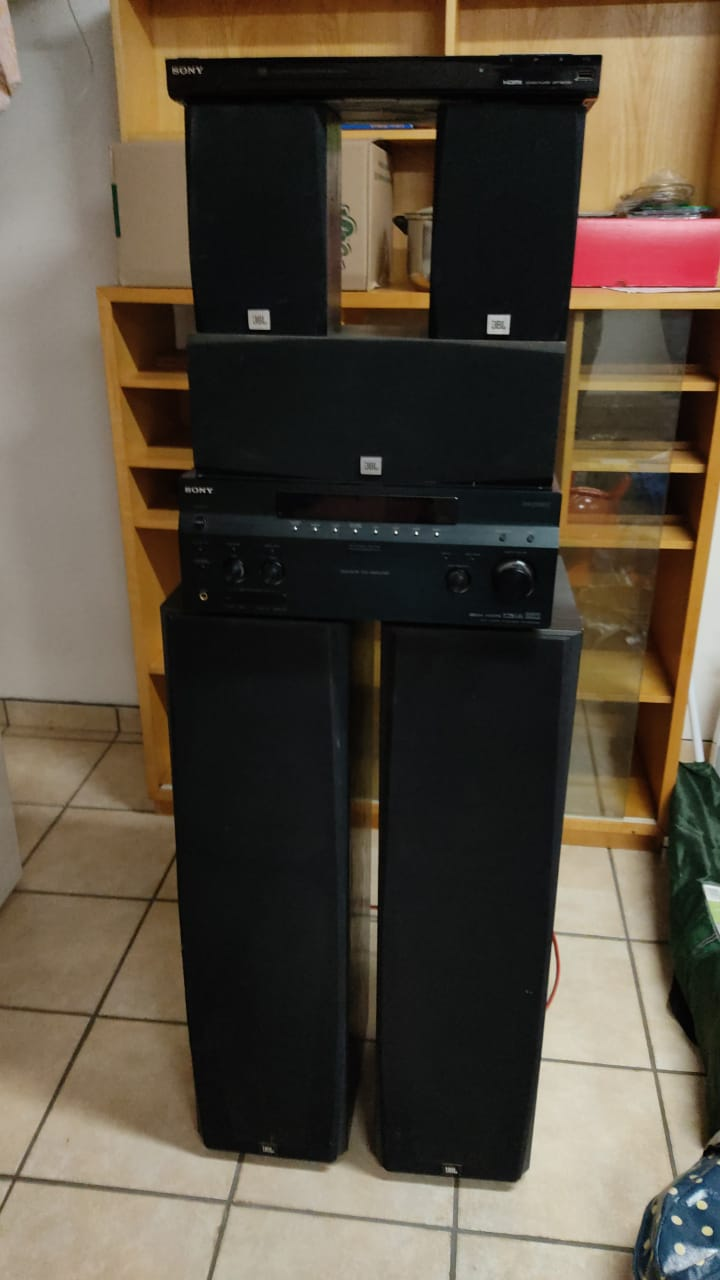 JBL sound system with Sony amplifier