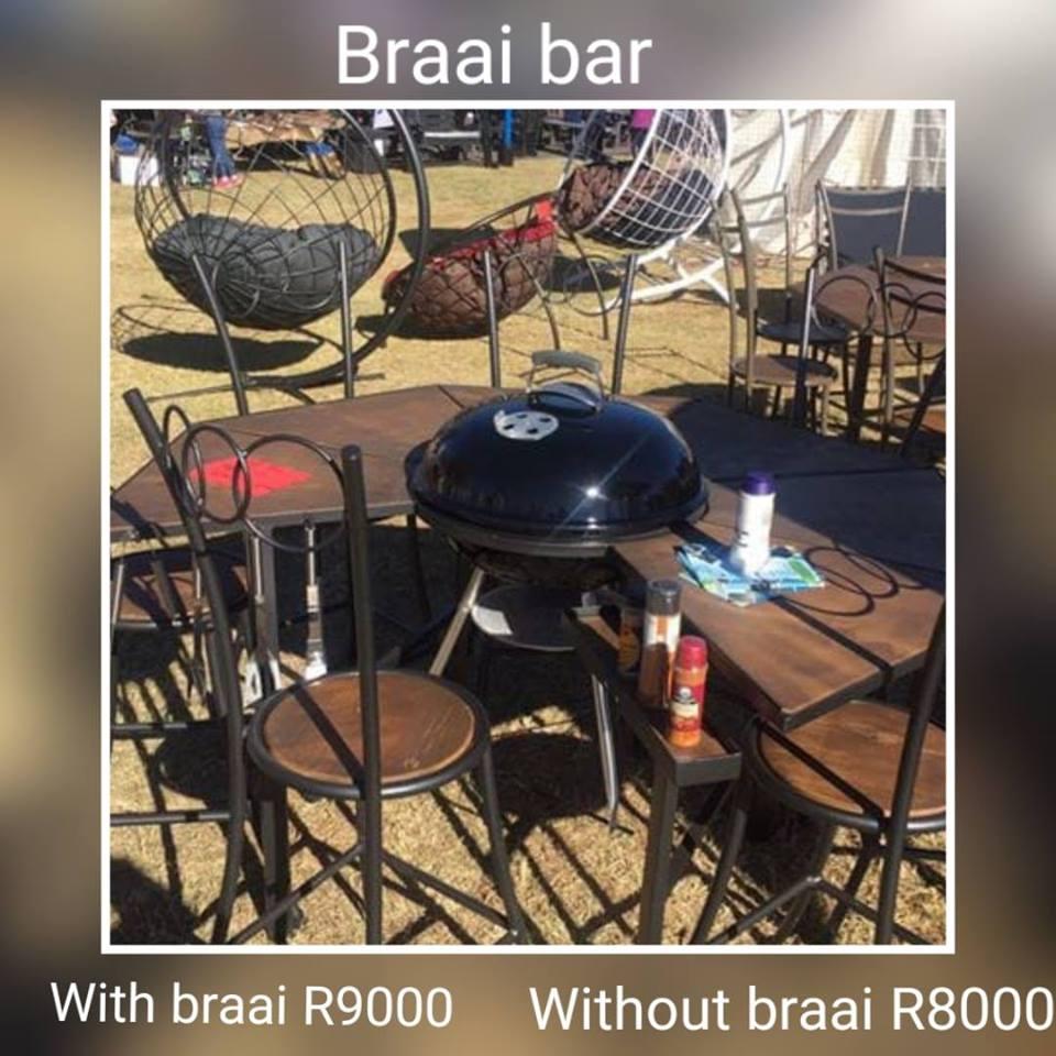 Braai bar for sale